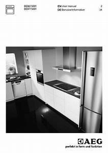 Aeg Be8715001m Oven