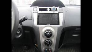 Joying Android Stereo In A Toyota Yaris 2009