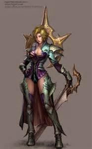 Female Knight Armor Concept