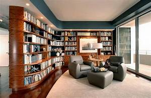 24 Beautiful and Cozy Home Library Ideas – Design Swan