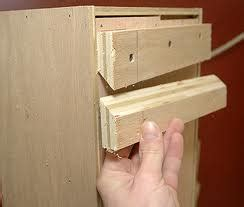 hanging cabinets on drywall handyman uses french cleat to hang heavy items handyman