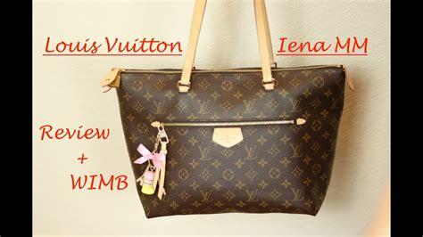 review whats   bag louis vuitton iena mm youtube
