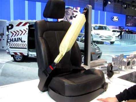 seat belt airbag youtube