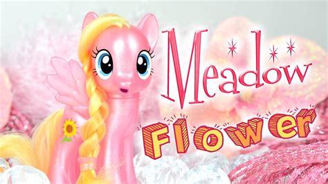 pony mlp rare flower meadow ponies toy super fever