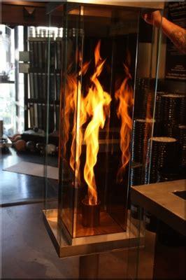 recreational vortex fires fire   glass box feature