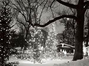 Christmas Scene - Christmas Wallpaper (2736042) - Fanpop
