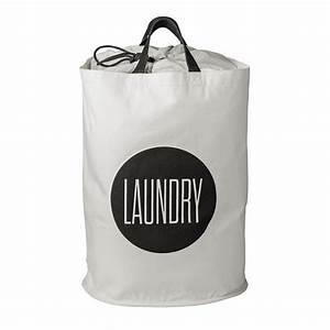 Sektgläser Schwarz Weiß : bloomingville w schekorb laundry schwarz wei schwarz wei h 50 online kaufen bei woonio ~ Watch28wear.com Haus und Dekorationen