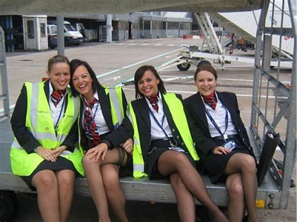 #Stewardesses #In #Pantyhose