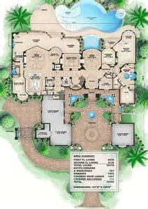 mansion floor plans plan 66008we tuscan style mansion bonus rooms house
