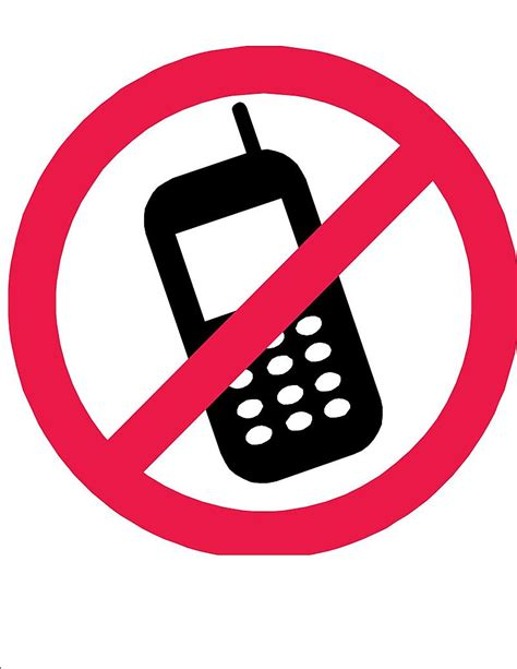 Free Printable No Cell Phone Sign Download Free Printable