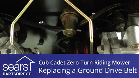 replace  cub cadet  turn riding mower ground