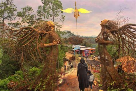 taman langit gunung  wisata spot selfie terbaru