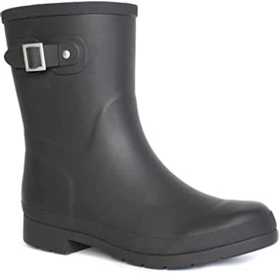 Amazon.com | Chooka Women's Waterproof Solid Mid-Height ...