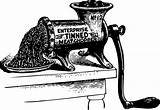 Clipart Meat Grinder Raffle Clip Cliparts Library sketch template