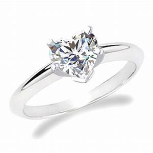 heart shaped simple engagement ring my dream wedding With wedding rings heart diamond