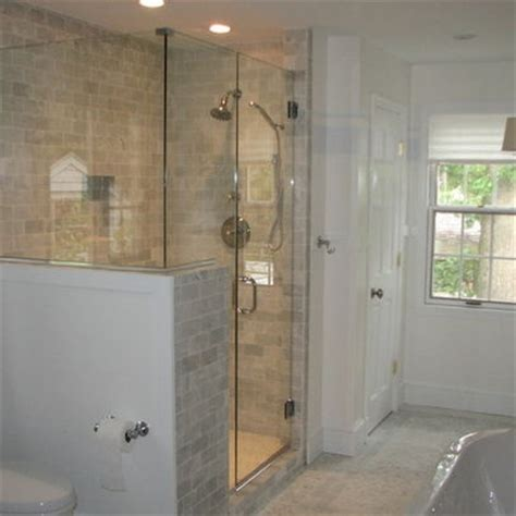 wall glass shower google search bathrooms