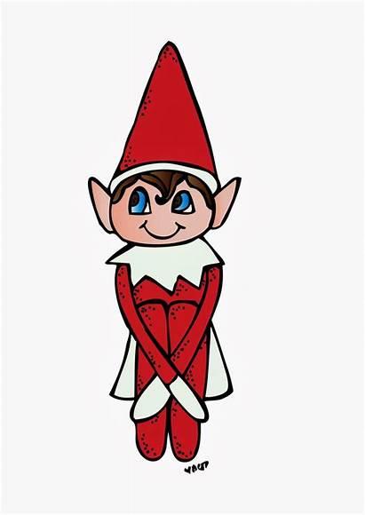 Elf Shelf Clipart Cartoon Christmas Fun Clip