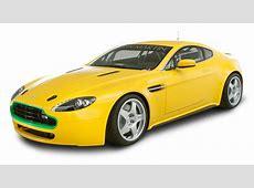Aston Martin Vantage N24 Yellow Car PNG Image PngPix