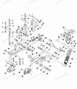 Polaris Atv 2000 Oem Parts Diagram For Rear Suspension