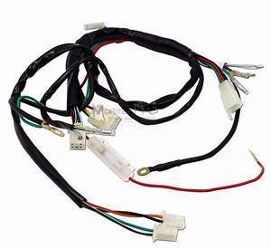 Full Wire Loom Wiring Harness 150cc 250cc 300cc Atv Quad