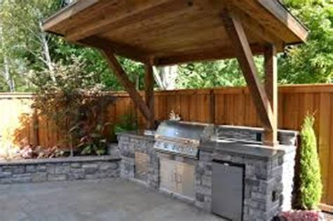 small outdoor kitchen ideas rustic outdoor kitchen designs for small spaces home