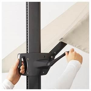Ikea Sonnenschirm Seglarö : seglar svart parasol hanging with base tilting beige dark grey 330 x 240 cm ikea ~ Eleganceandgraceweddings.com Haus und Dekorationen