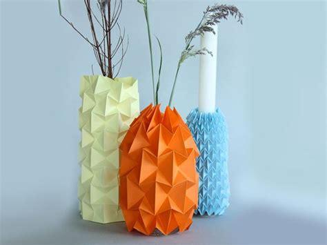 fabriquez un cache pot en origami la maison diy