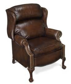 bradington leather claw recliner 4115