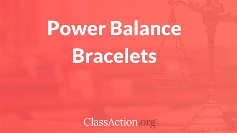 power balance lawsuit bracelet class action