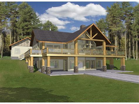 a frame house plans with basement eplans a frame house plan hillside with two levels