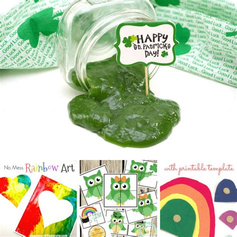 perfect valentine st patricks day  easter activities