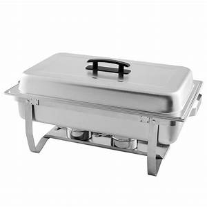 LionsDeal Full Size Economy Stainless Steel Chafing Dish ...