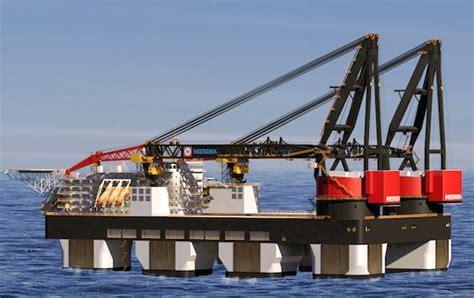 crane tubs tub cranes huisman equipment