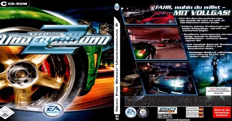 Free Download Cover Designer Need For Speed Underground 2
