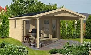 Abri De Jardin Avec Pergola : abri de jardin avec pergola ~ Dailycaller-alerts.com Idées de Décoration