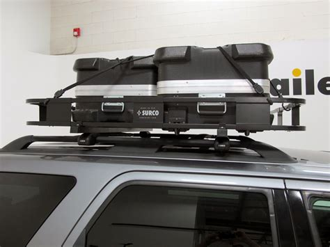 surco safari rack surco safari rack 5 0 rooftop cargo basket for factory