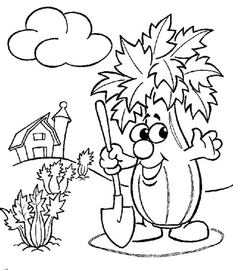 Coloring Vegetable by Vegetables Coloring Pages Vegetable Coloring Pages Food