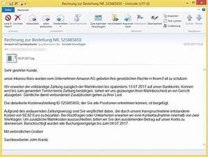 Amazon Rechnung Online : rechnung zur bestellung nr 525885850 von amazon ag sachbearbeiter pay vorsicht e mail ~ Themetempest.com Abrechnung