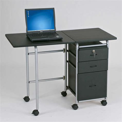 computer desk on wheels small filing cabinet on wheels computer desks for home
