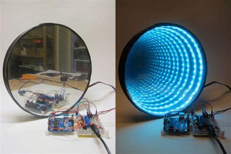 rgb led infinity mirror hacked gadgets diy tech blog