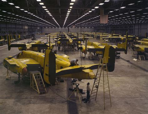 United States Aircraft Production During World War Ii