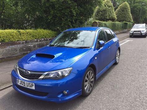 2009 Wrx Engine by 2009 Subaru Impreza Wrx Blue Hatchback Car Petrol Manual