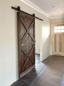 Best 25 hanging barn doors ideas on pinterest diy for Barn door glides