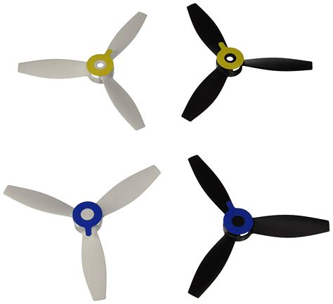 parrot bebop  drone propellers white air supply