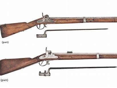 Lorenz Austrian 14mm Rifles Percussion Lot Marked