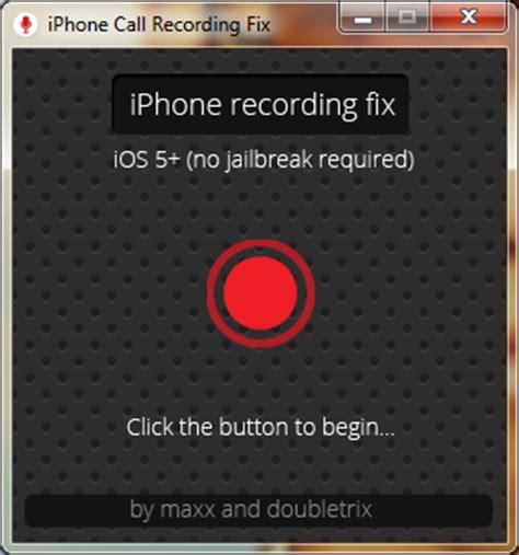 record calls on iphone record calls on iphone md no jailbreak rec fix 1 3 4