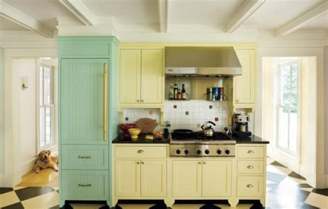 12 Great Kitchen Color Combos