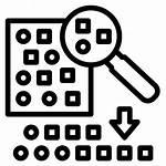 Icon Random Sampling Document Statistical Legal Data