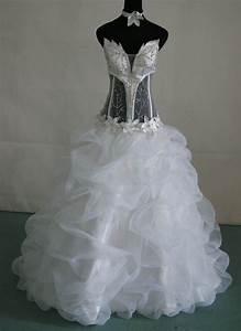see through corset wedding dress wedding dresses wedding With see through bodice wedding dress