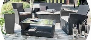 La Foir Fouille Salon De Jardin : salon de jardin mobiler de jardin table et chaise la ~ Dailycaller-alerts.com Idées de Décoration